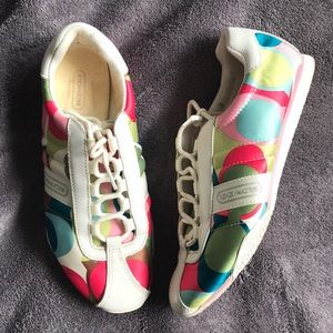 Coach Kirby Multicolor Sneakers
